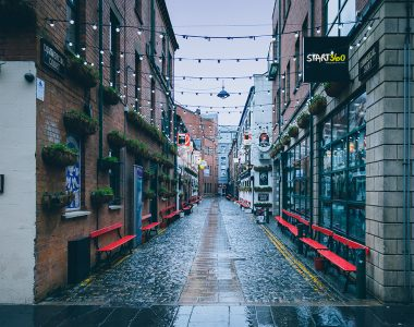 Commercial Court, Cathedral Quarter in Belfast City