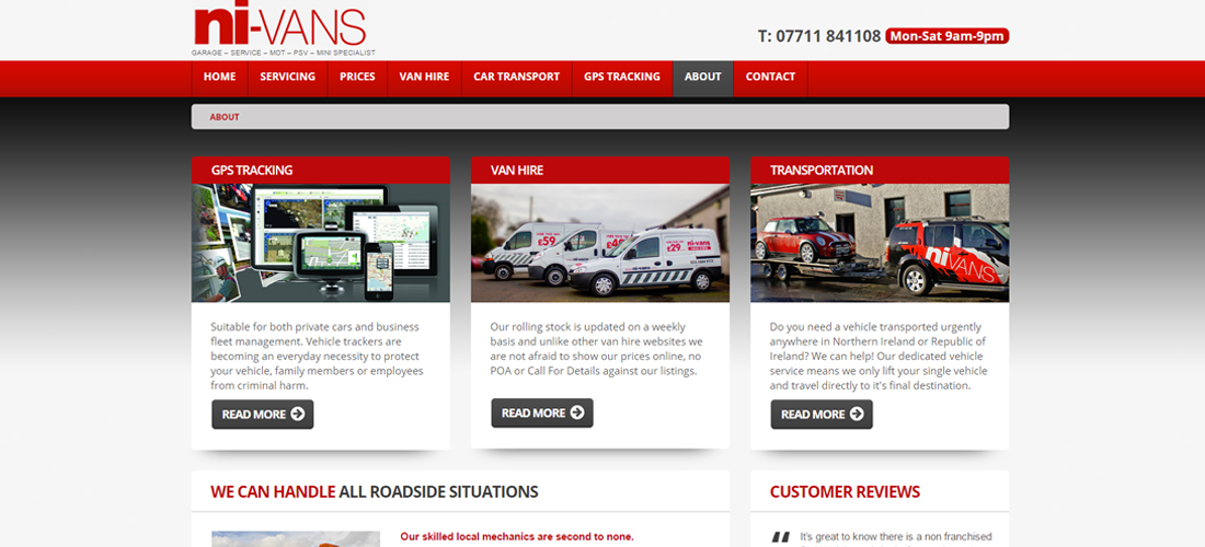 Website Design County Armagh