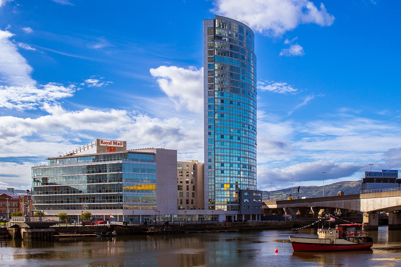Obel Tower, Belfast City Northern Ireland