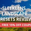 Sleeklens Lightroom Landscape Presets Review