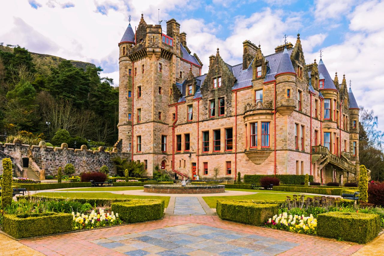 Belfast Castle, Cavehill Country Park Northern Ireland