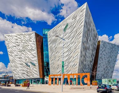 Belfast Titanic Museum, Titanic Quarter, Northern Ireland - Architecture Photography
