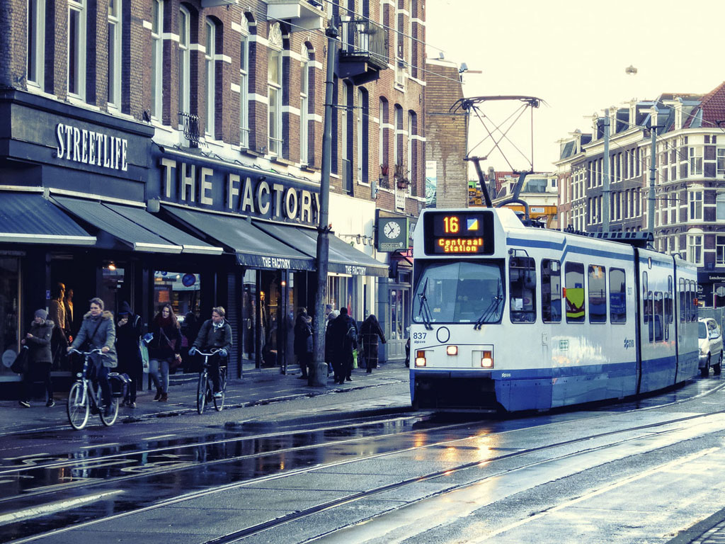 Amsterdam City Streets