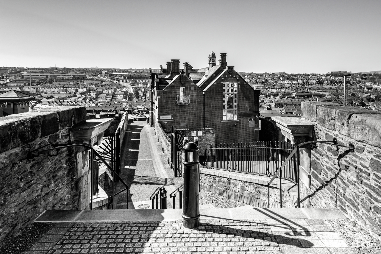 Londonderry City Walls, Northern Ireland