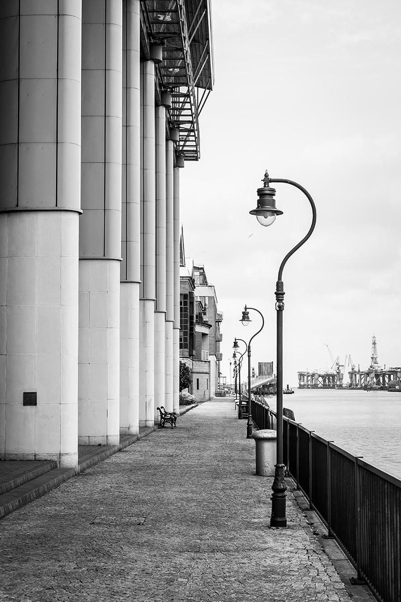 A walk along Belfast Docks