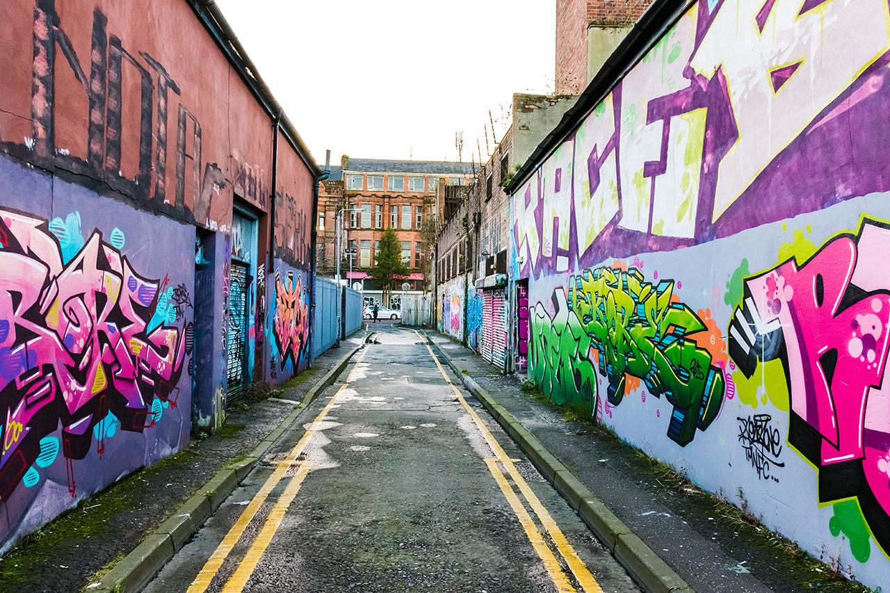 Back Streets of Belfast
