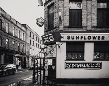 Sunflower Bar Belfast City, Northern Ireland - City and Architecture Photography