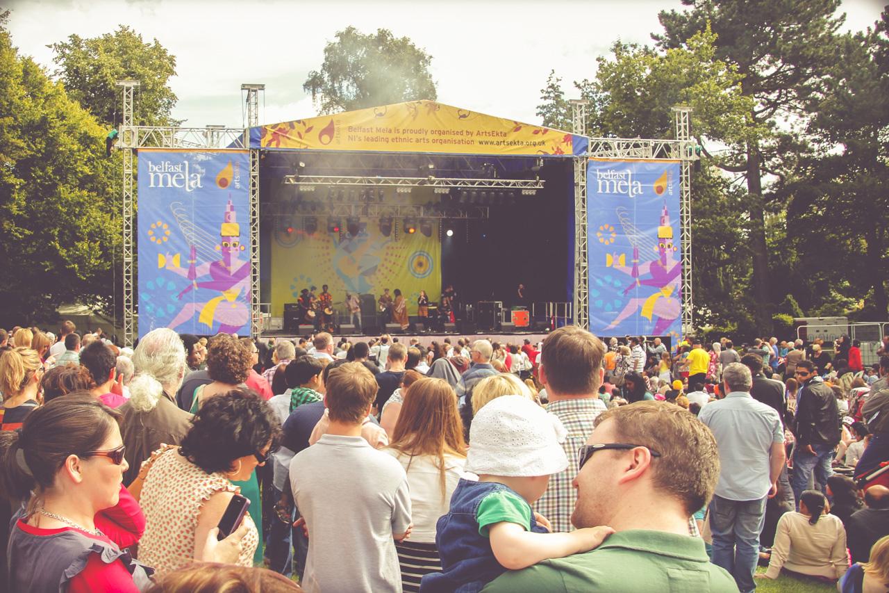 Belfast Mela Festival, Botanic Gardens