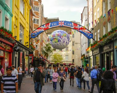 Carnaby Street, London England - Street Photography