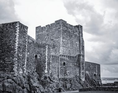 Carrickfergus Castle, Northern Ireland - Architecture Photography