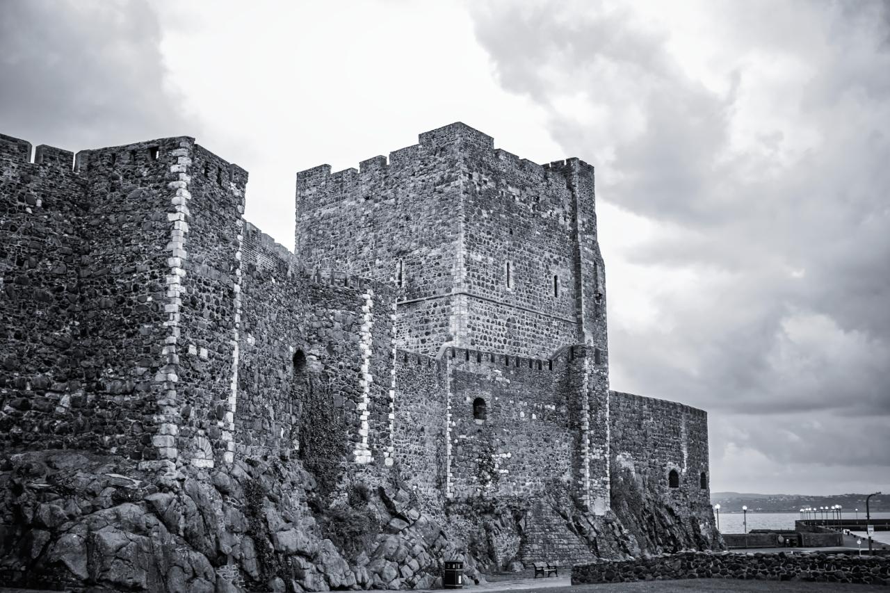 Carrickfergus Castle, Northern Ireland