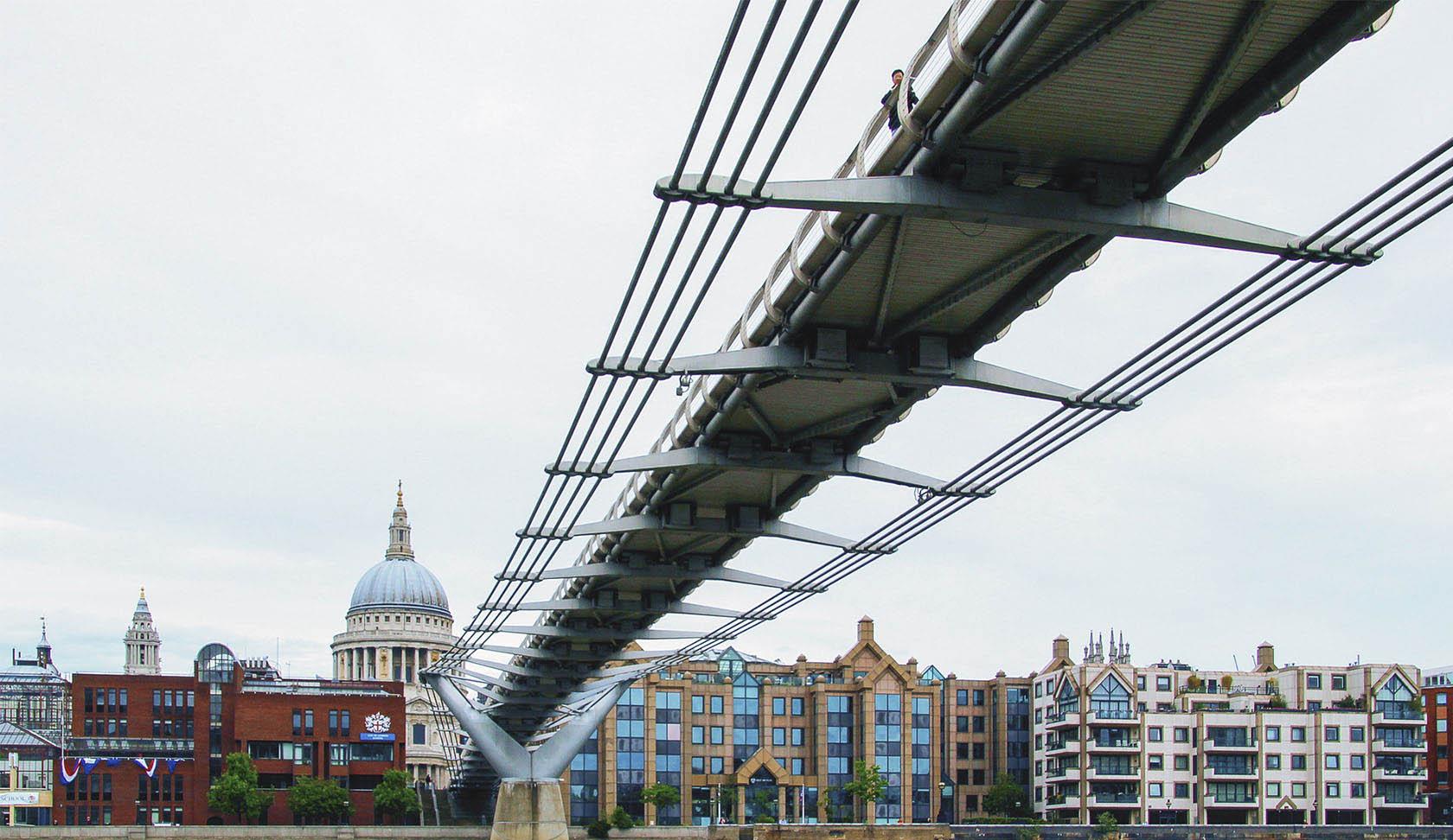 London Millennium Bridge, England