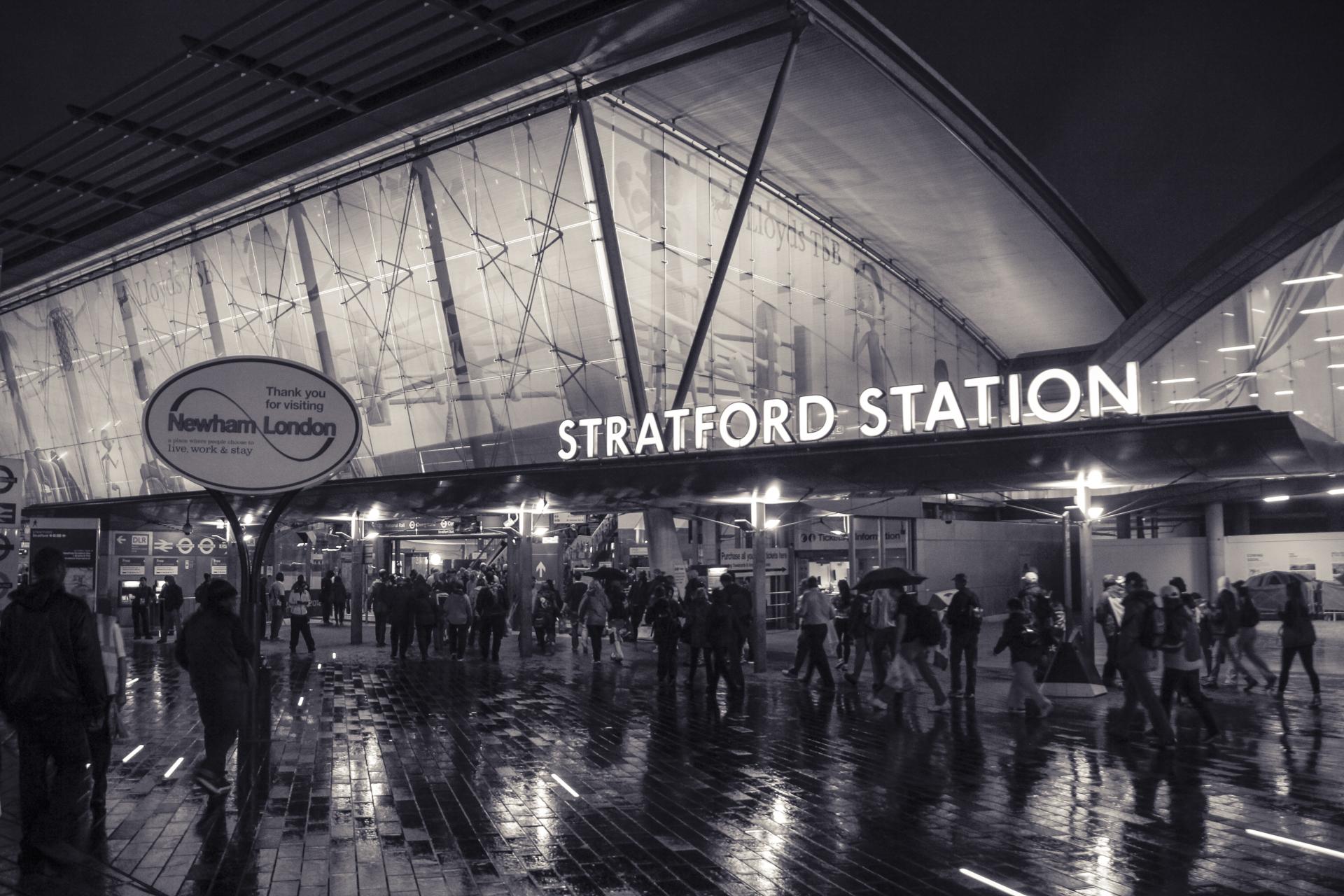 Stratford Train Station London