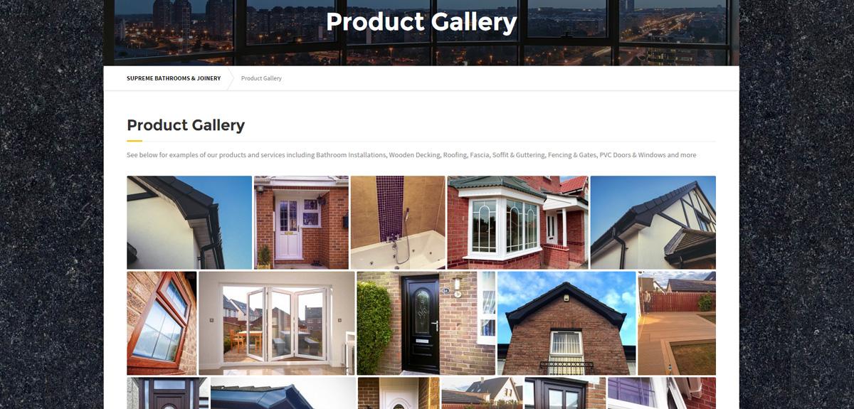 Photo Gallery Page - Supreme Northern Ireland