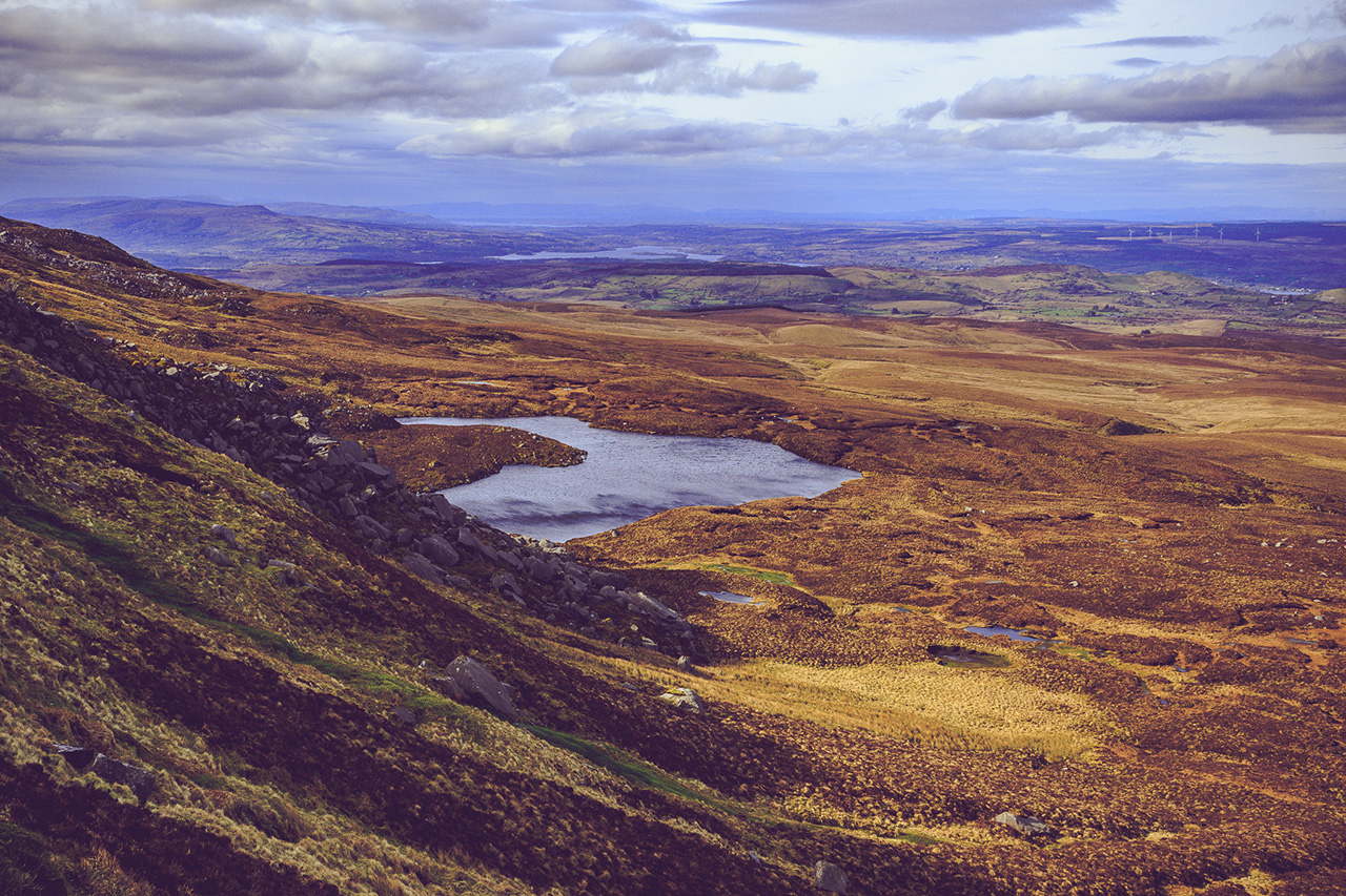 Cuilcagh Mountain, Fermanagh - Landscape Photography Northern Ireland.