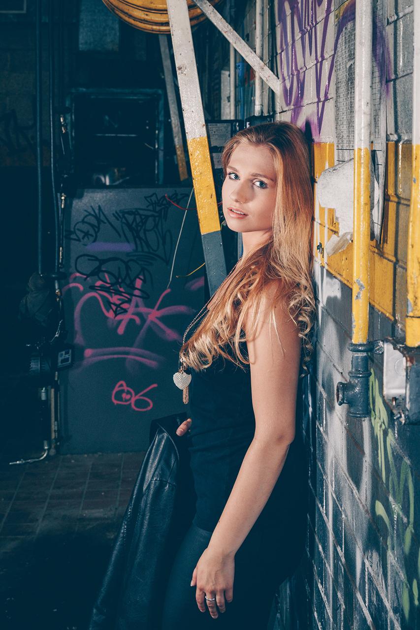 Urbex Portrait Photoshoot