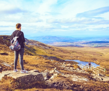 Breathtaking views of Cuilcagh, Fermanagh